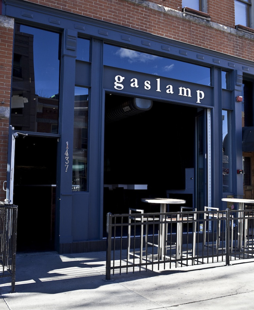 Gas Lamp Front Door